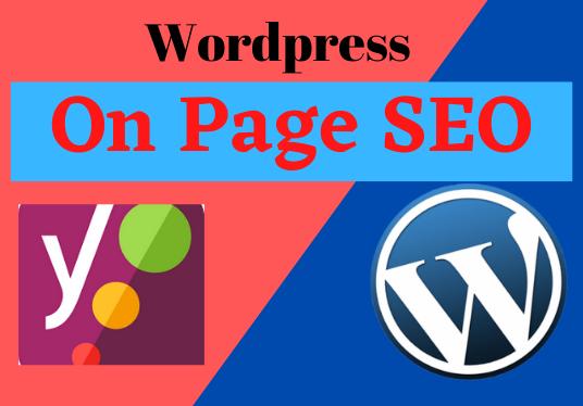 I will do WordPress Yoast On-Page SEO to rank your website on google