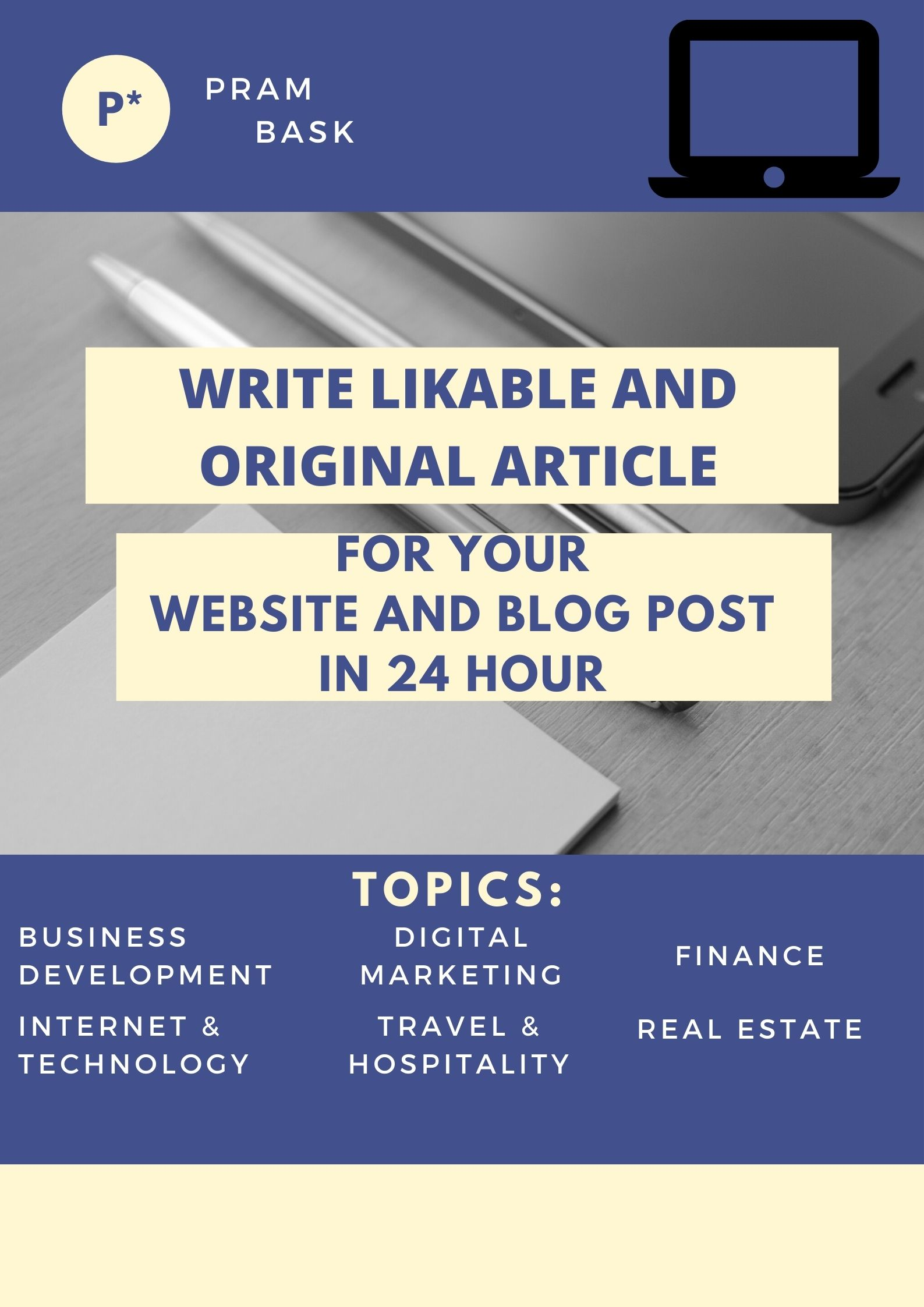 Five 500 Words Likable and Up-To-Date Articles for Your Website or Blog Post