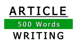 500 Words High Quality Article That Is SEO Optimized