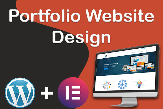 I build Portfolio website on WordPress,  fully responsive and mobile friendly