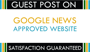 I will do guest post on google news websites