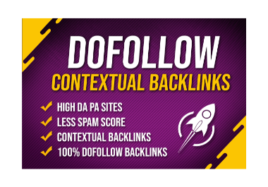 Boost your ranking with 50 High quality Dofollow Backlinks