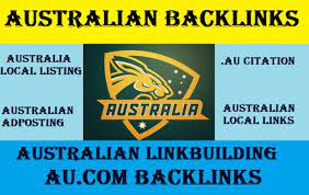 I will provide high Quality 20 Do Follow Australian NIche Backlinks at Great Prices