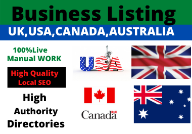 30 Local Citations High Authority dofollow backlink Website Directory Submission Local Listing