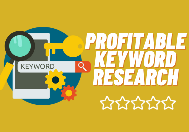 i will do effective profitable keyword research for your business