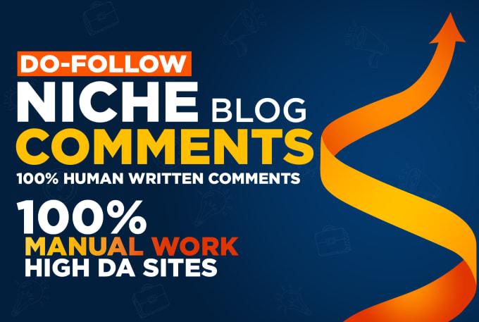 30 Niche Dofollow Blog Comments