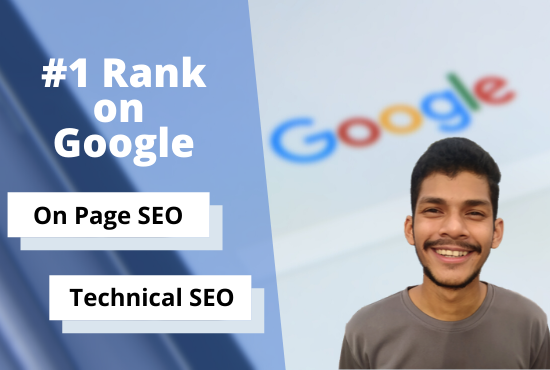 I will do your website onpage seo and technical optimization for google rank