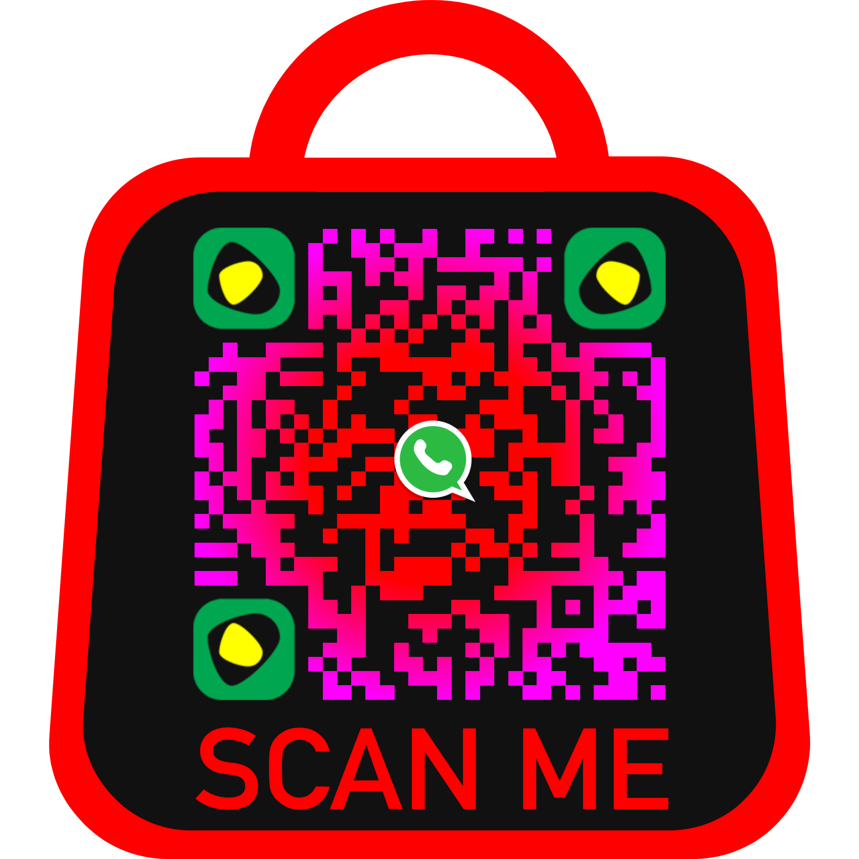 Most attracted QR CODE design for your brand.