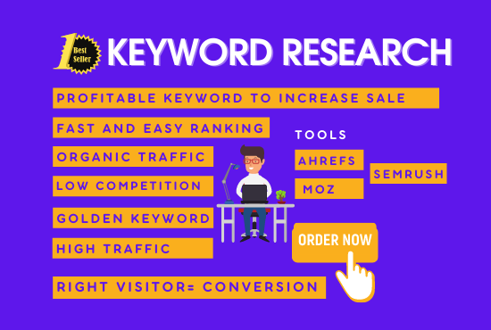 I will do profitable keyword research for your small business/amazon
