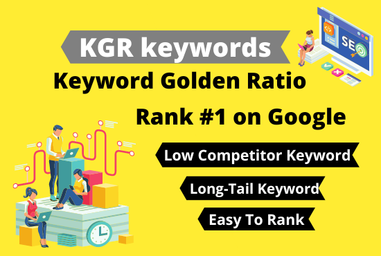 I will do effective 10 KGR keyword research for your any site