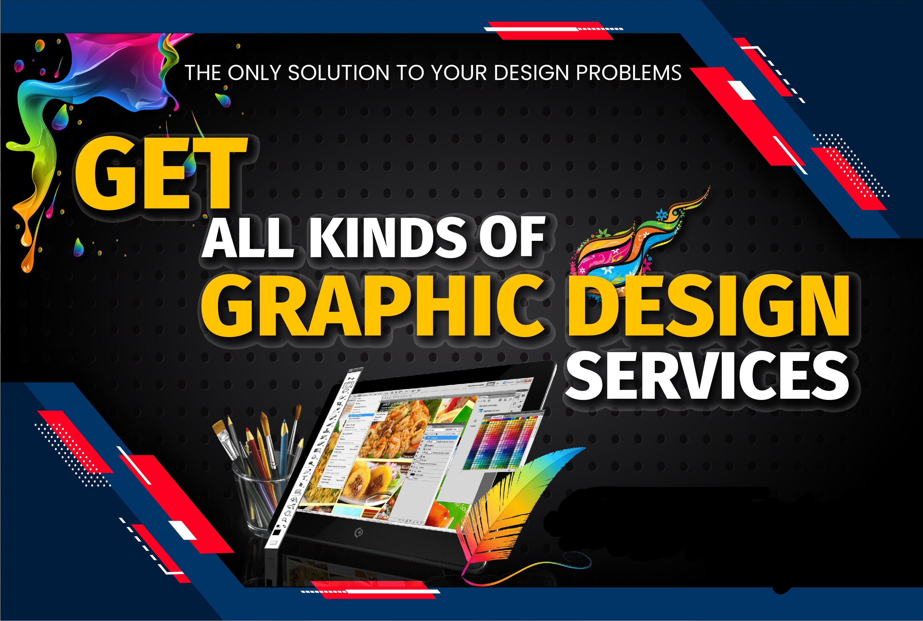 I will be your Freelance Graphic Designing Expert