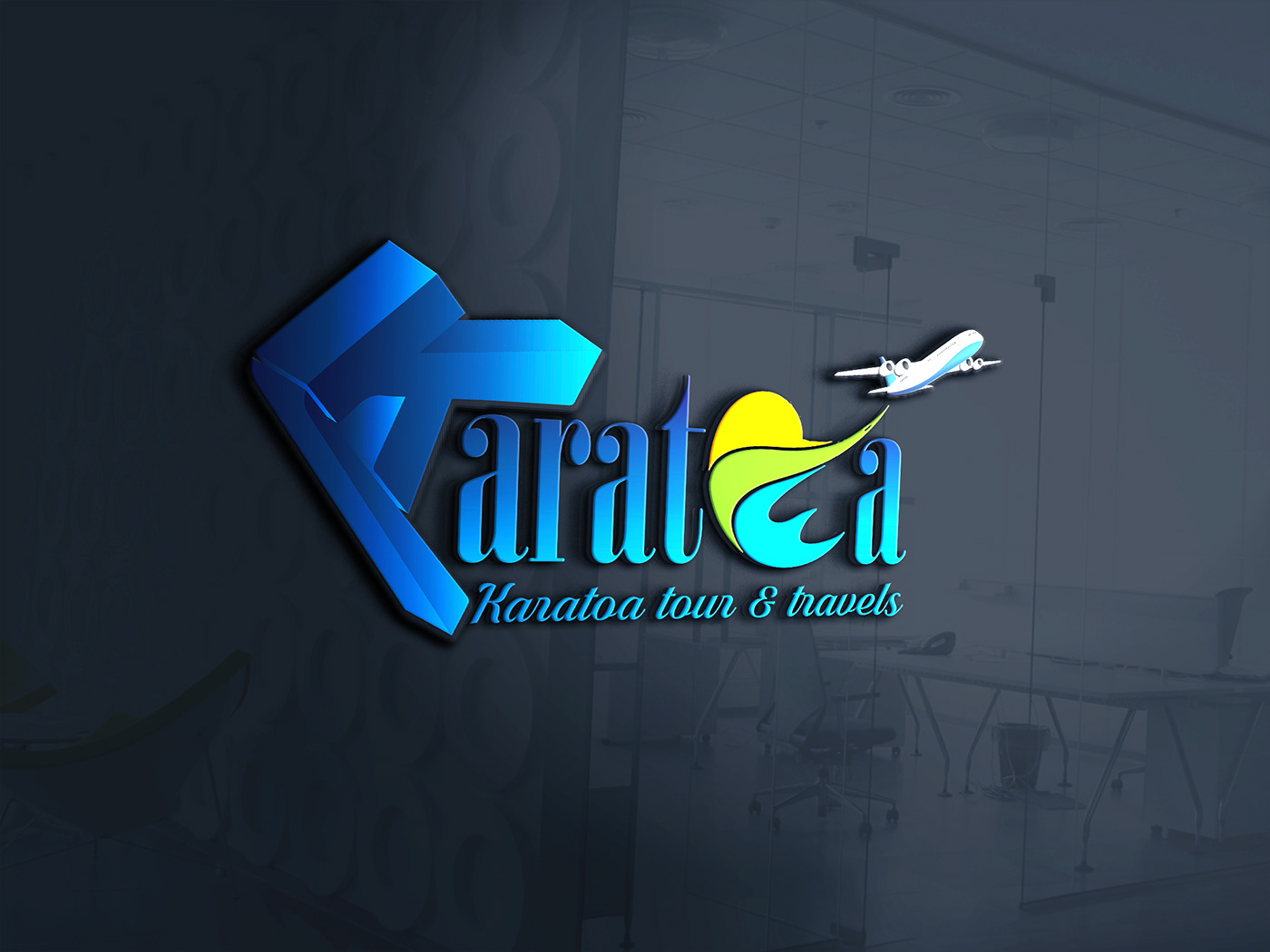 I will create High Quality 3d logo design with source file