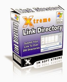 Xtreme Link Directory submit link. To over 200 directories IM SOFT EXTEME LINK DIRECTORY