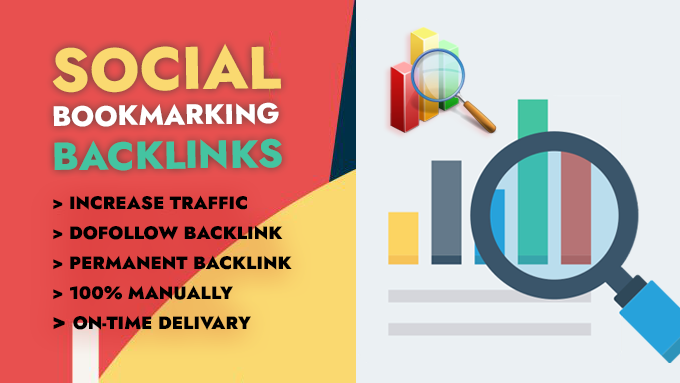 I will do top 100 social bookmarking backlinks manually for traffic boosting