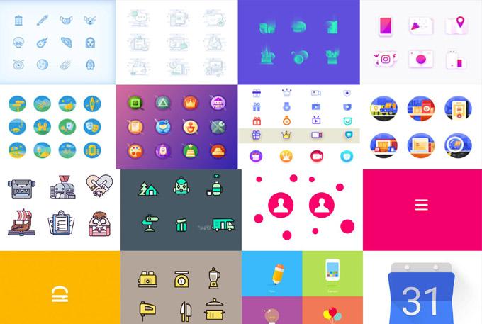 professional high quality custom icons design
