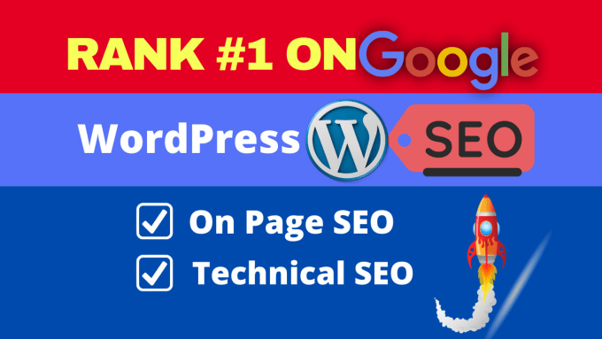 I will do Onsite SEO and Technical SEO of your wordpress website 3 Pages in 24 hours