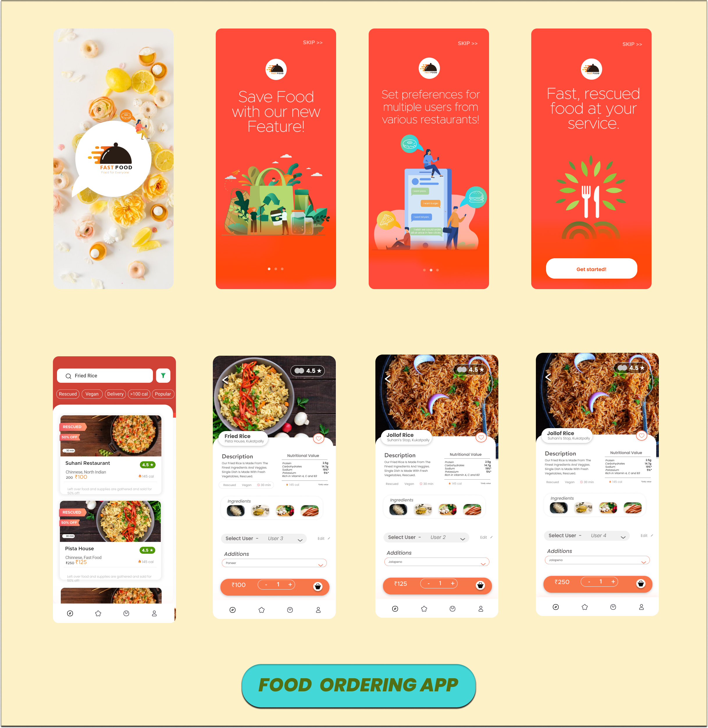 I will design ui ux for mobile apps and websites