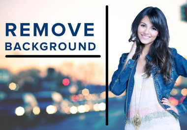 I will do images remove background by clipping path