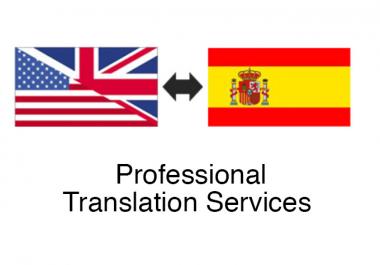 I am a professional spanish translator an article