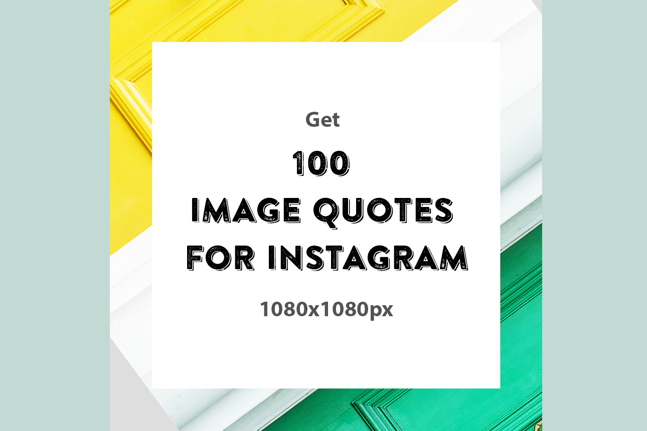 I will create 100 motivation image quotes for Instagram in 24h