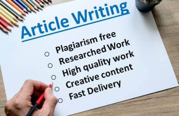I will write high-quality SEO friendly articles or blog posts for you