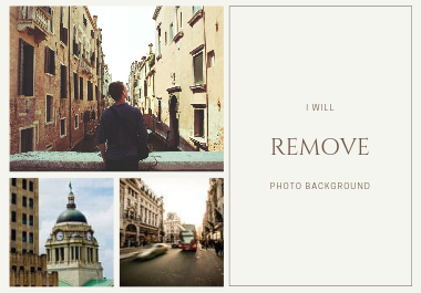 I will remove your photo background quickly