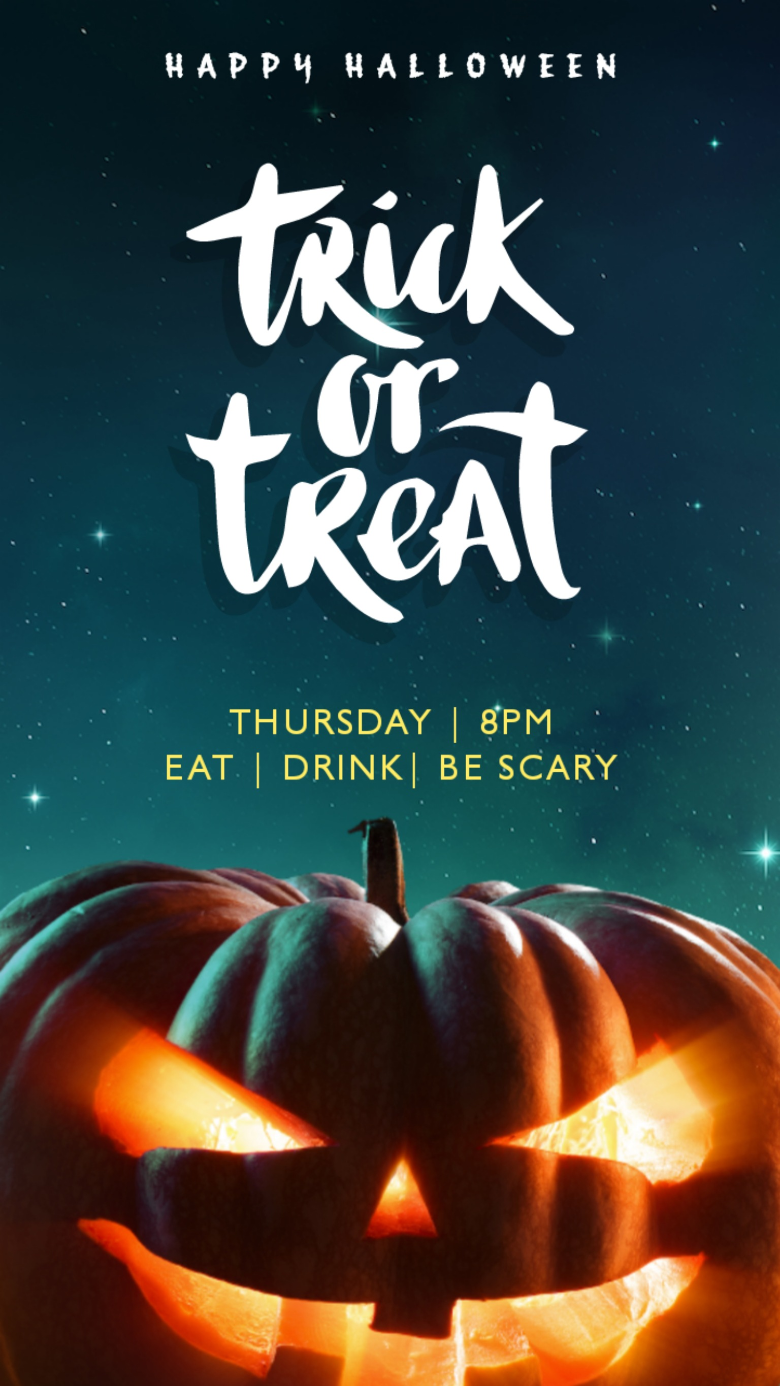 I can creat design pamphlet and poster party Halloween