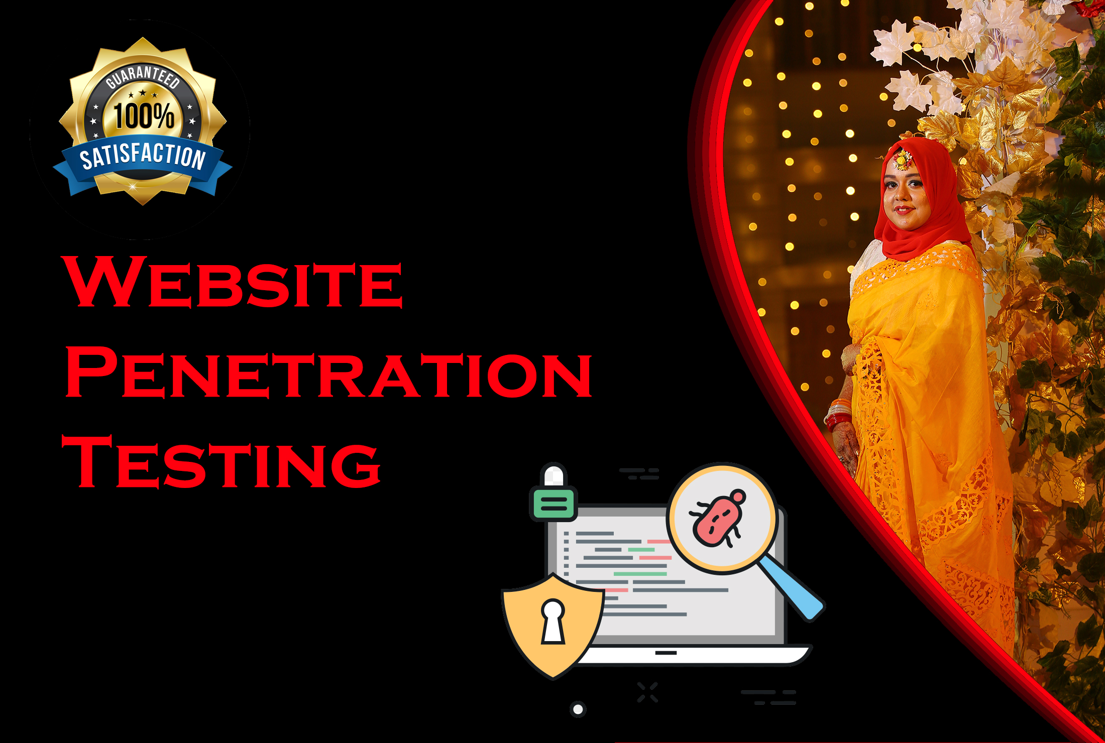 Perform penetration tests for web with report