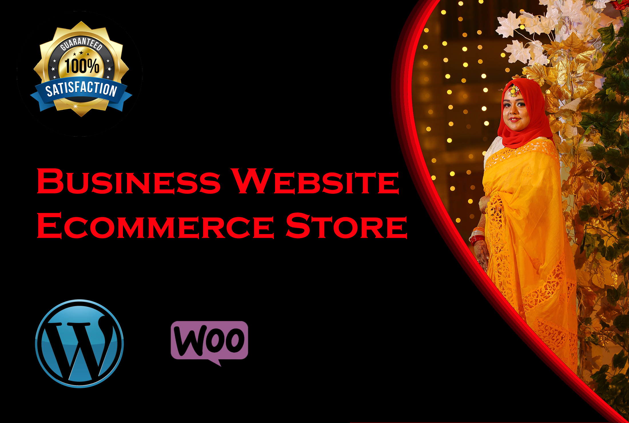 Create an ecommerce or marketplace or business website