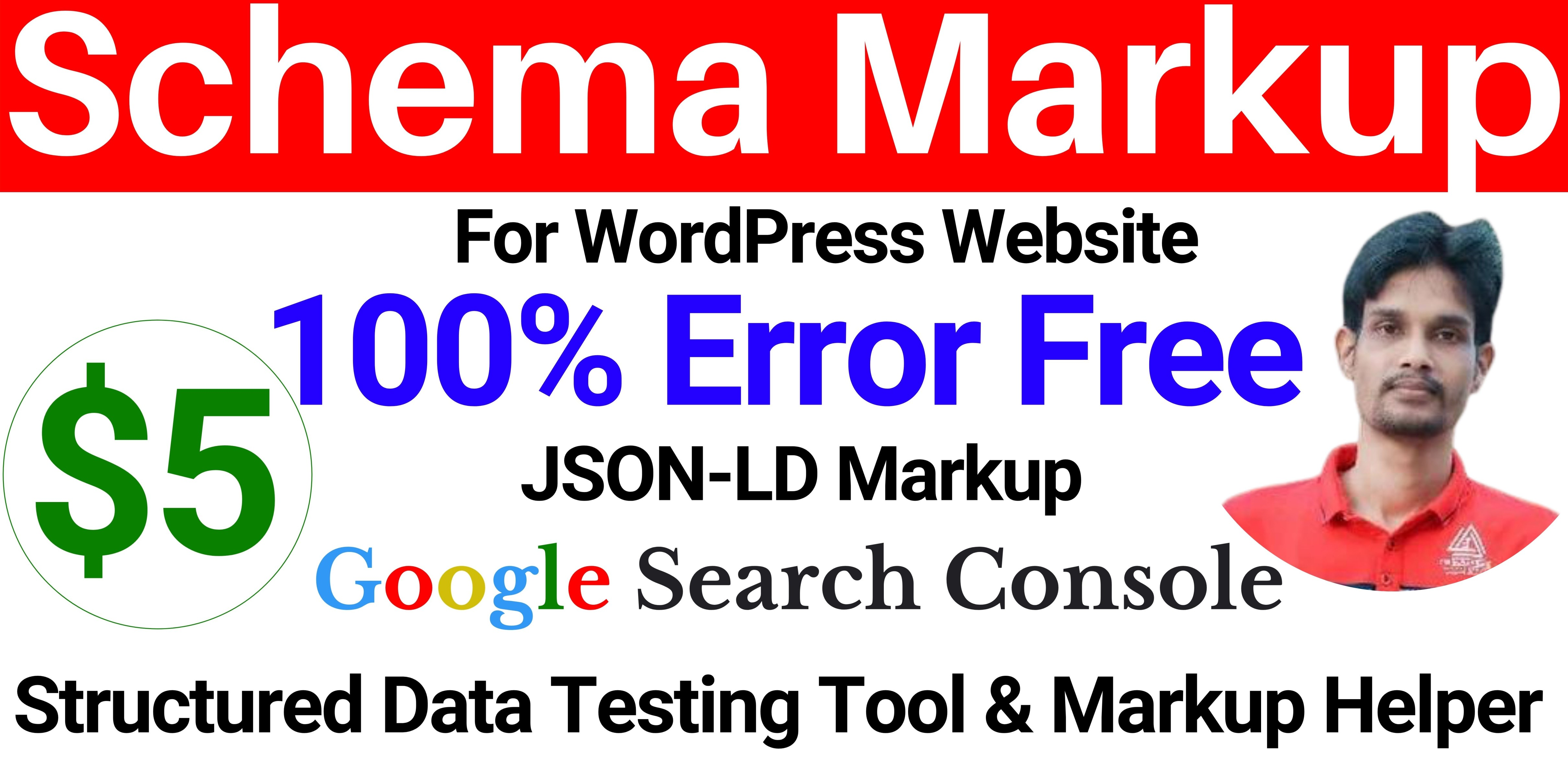JSON-LD Schema Markup for your WordPress Website,  eCommerce Products or Blogs