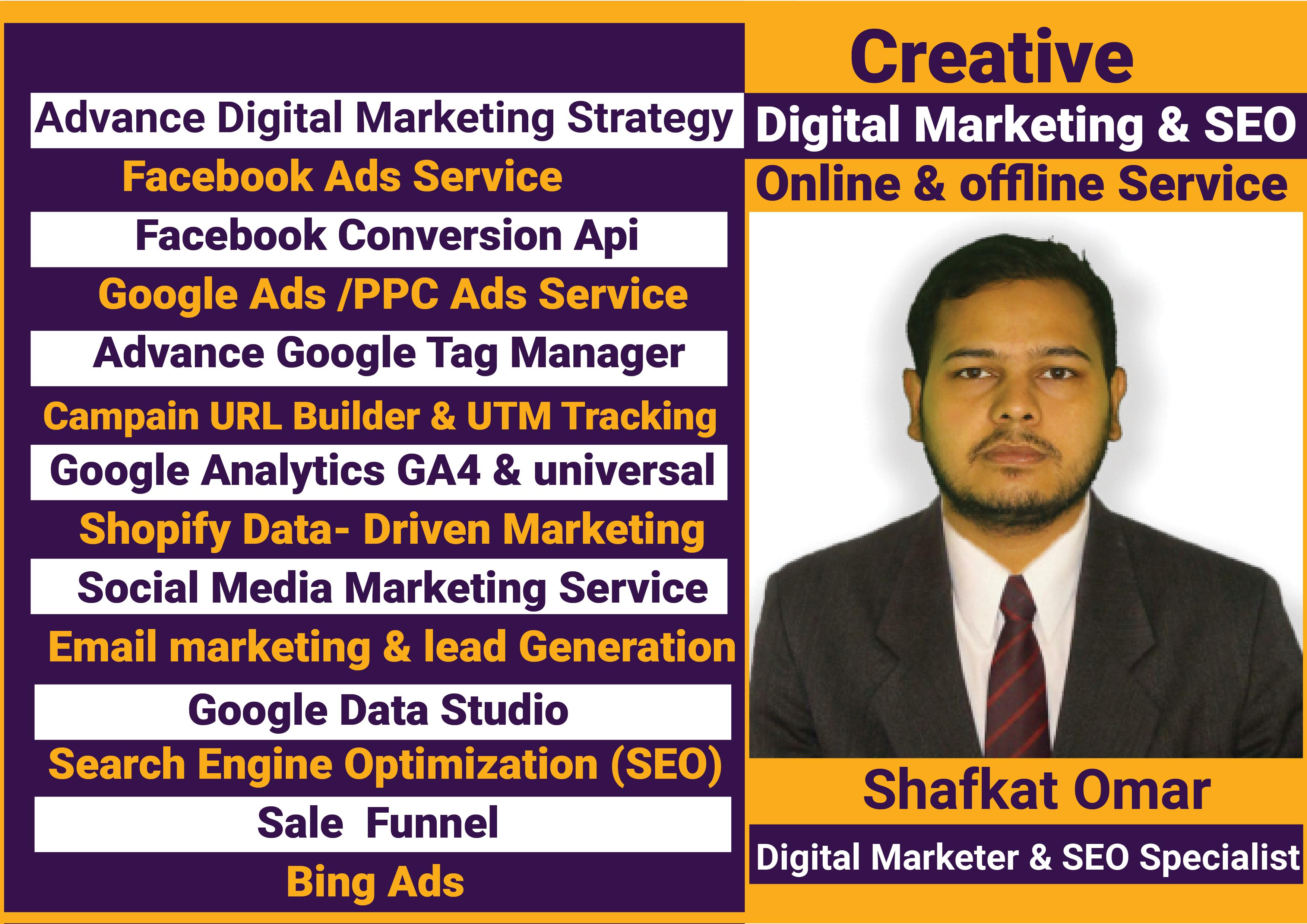 Digital marketing and SEO Online Service