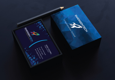 I will create custom and unique business card and Brand Identity design within 24hrs