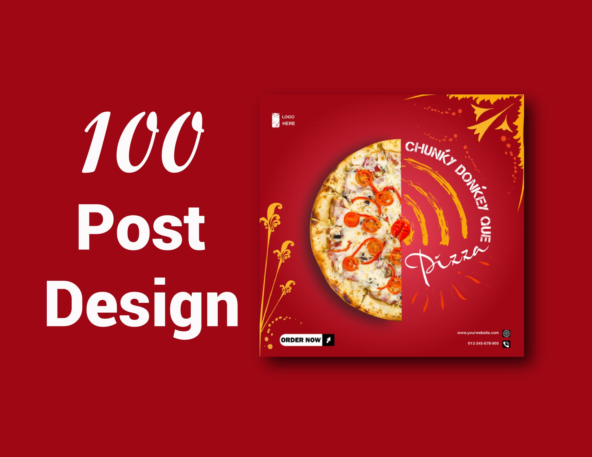 Expert of creating attractive and promotional social post designing.