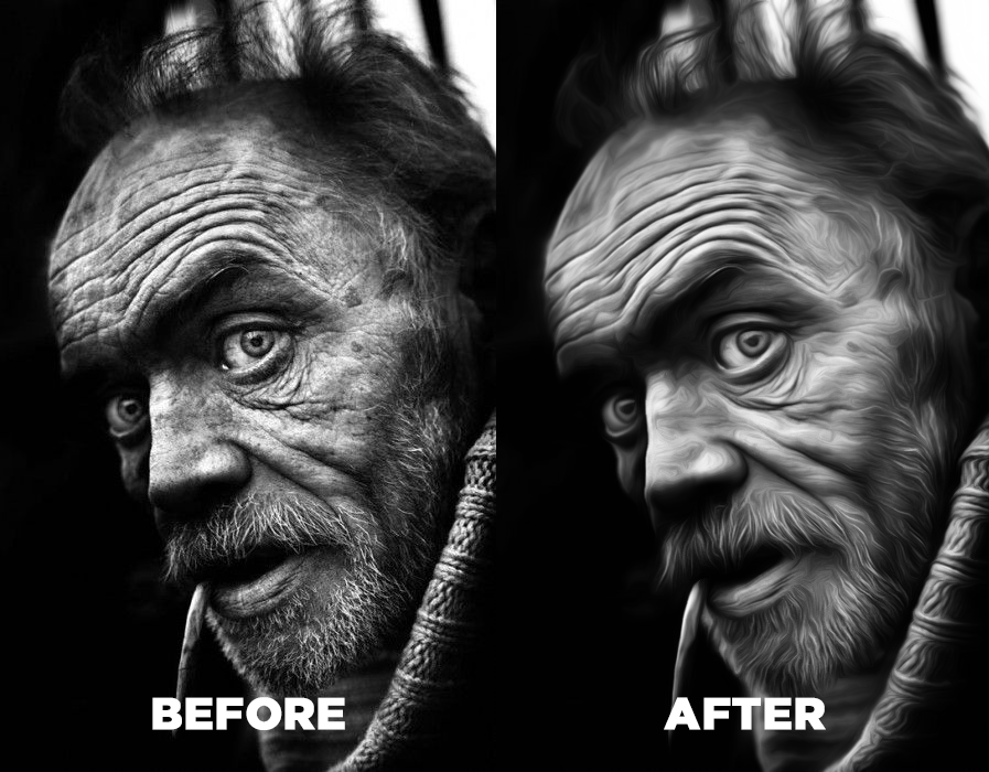 I will make or retouch 5 your image to oil painting