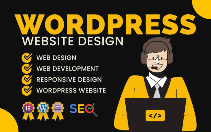 I Will Create Pro and Modern WordPress website Using Elementor & Elementor Pro As Your Requirements