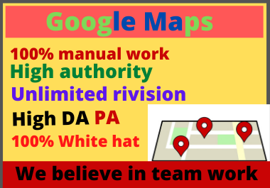 1000 Google Map Citation Manual Pointing for Local Business SEO