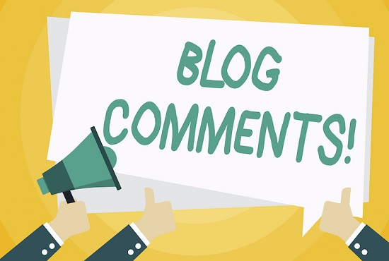 Blog comments,  reviews comments and more