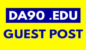 I will do Guest Posts on top. edu sites