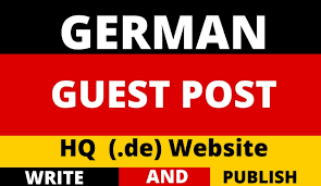 Guest posts On High quality German sites
