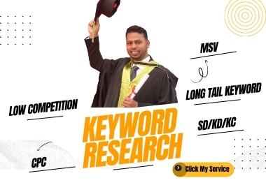 In-depth Profitable SEO Keyword Research Rank 1