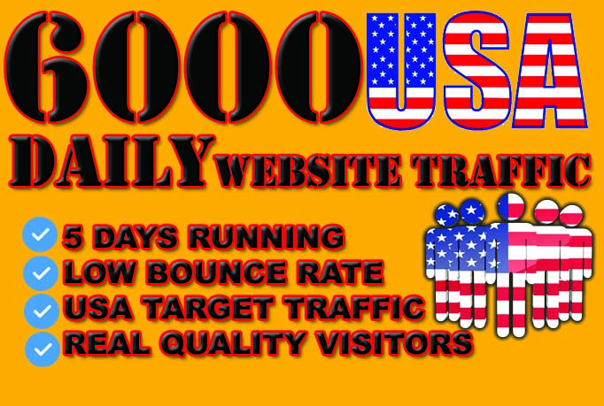 drive organic usa target traffic visitors to your website