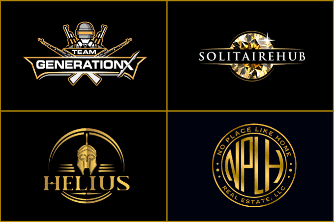 Logo for your business and yt with copyright free