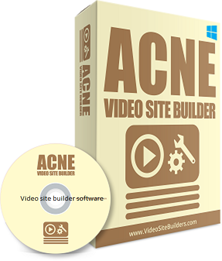 ACNE video site builder to create video sites