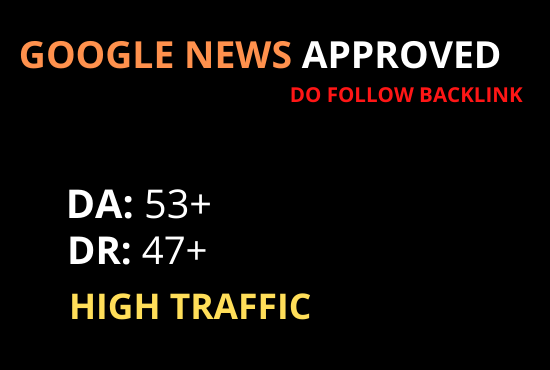 Guest post on google news approved