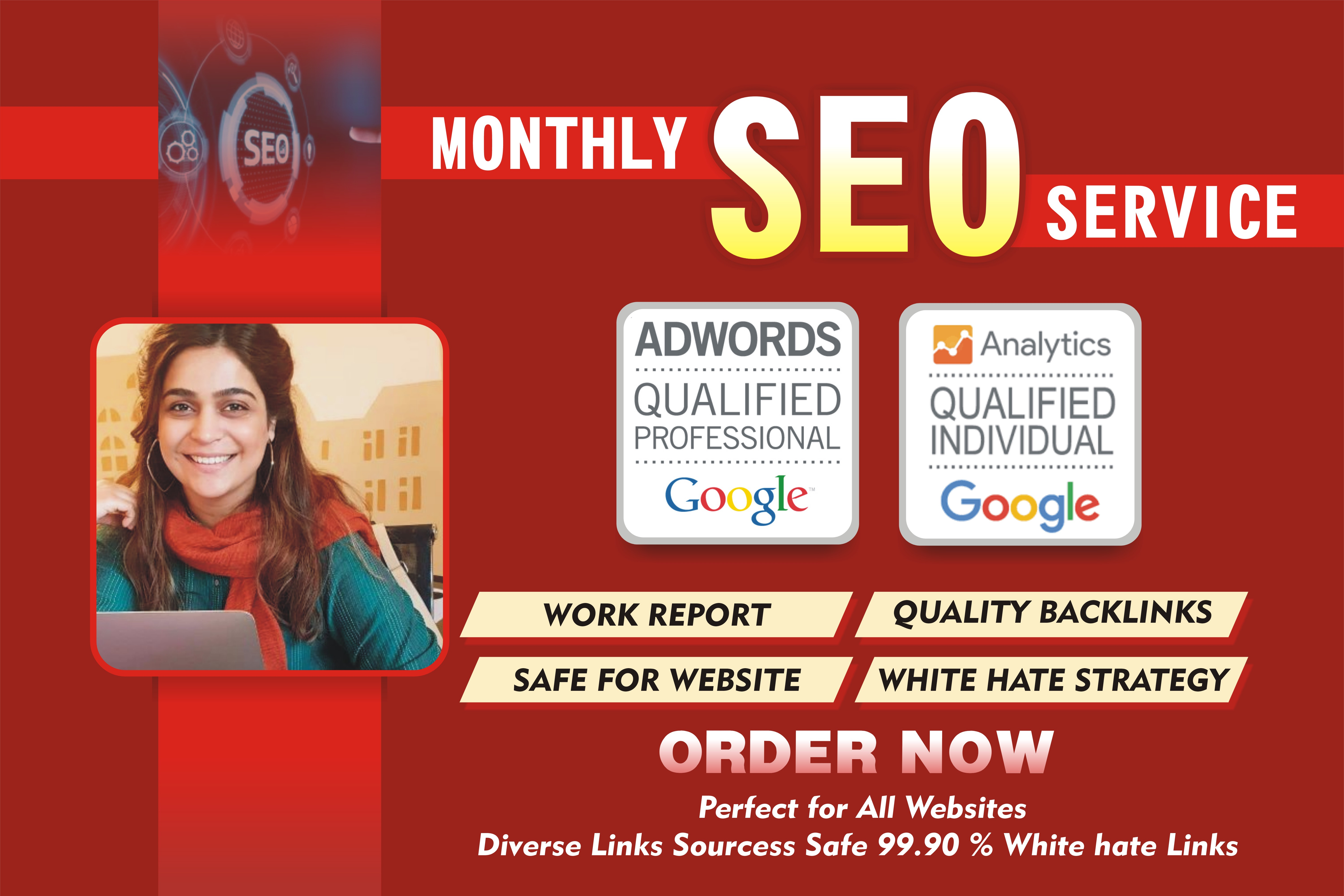 I will rank your website with monthly off page SEO service,  pro high quality backlinks