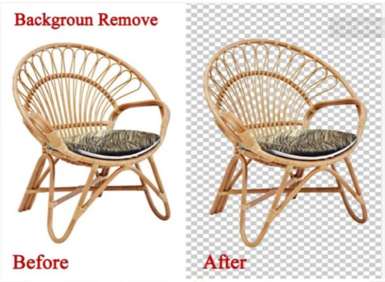 I will retouch product and remove background complex images