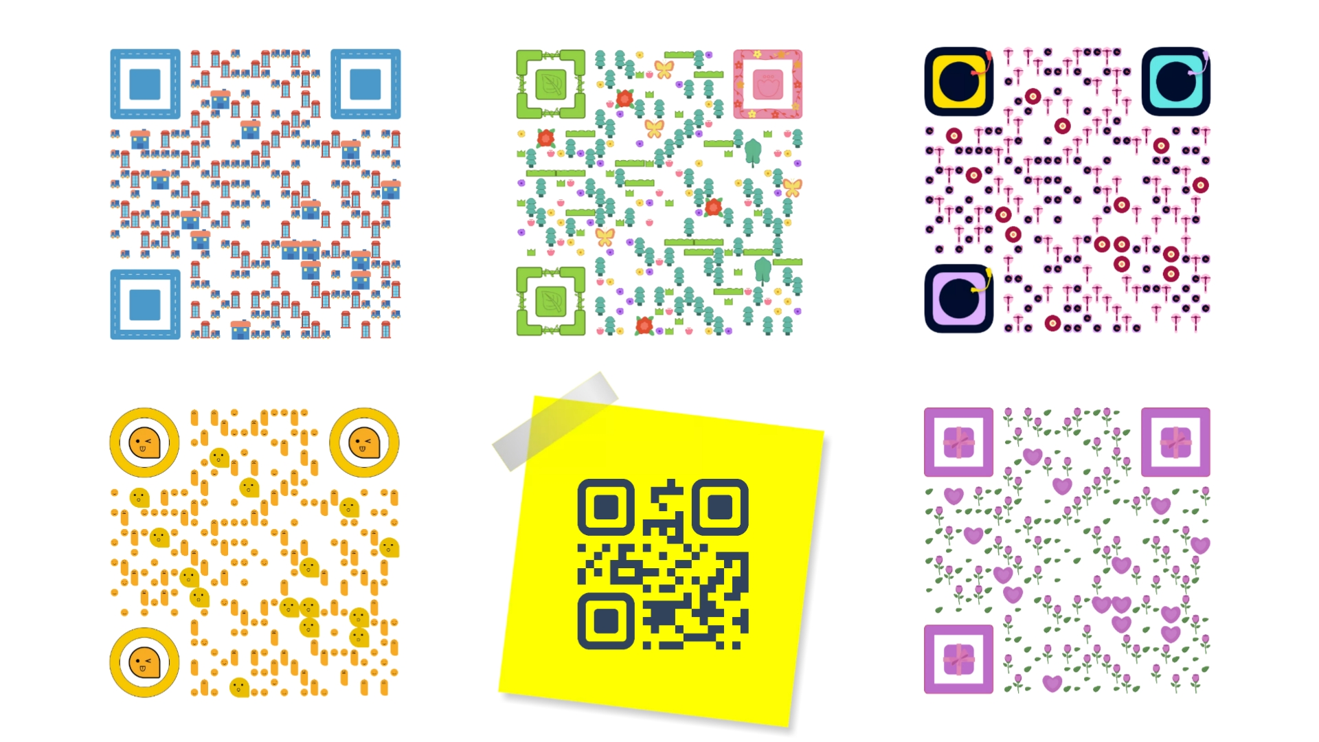 I will make professional QR code or barcode within few hr and with your logo