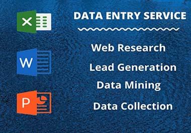Perfect data entry,  Virtual Assistant & copy-paste service