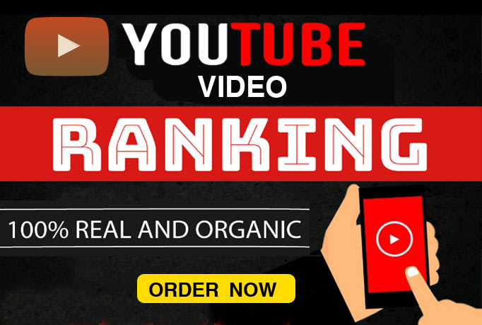 I will do organic promotion of your youtube video