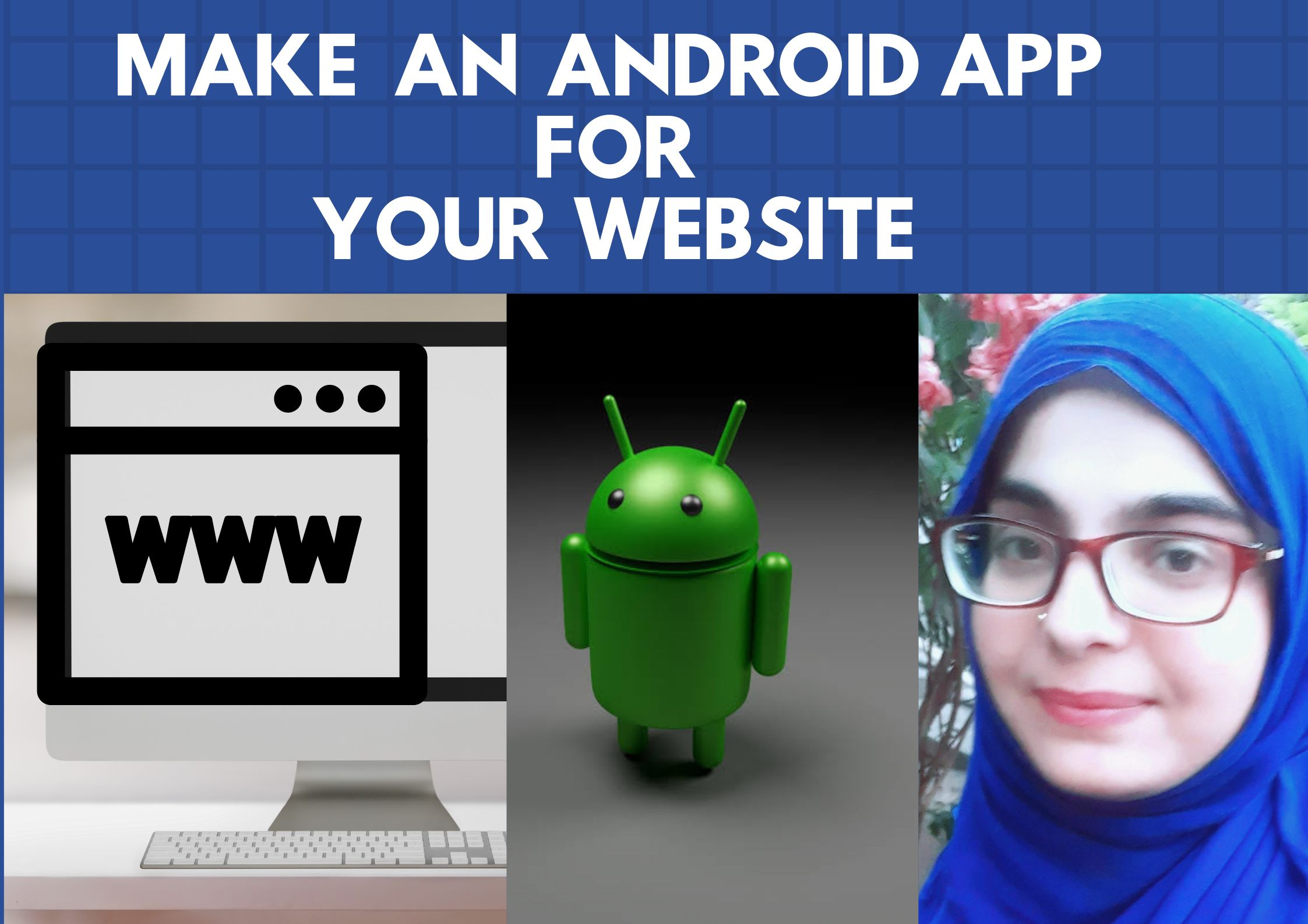 I will convert your website into a cool looking android app